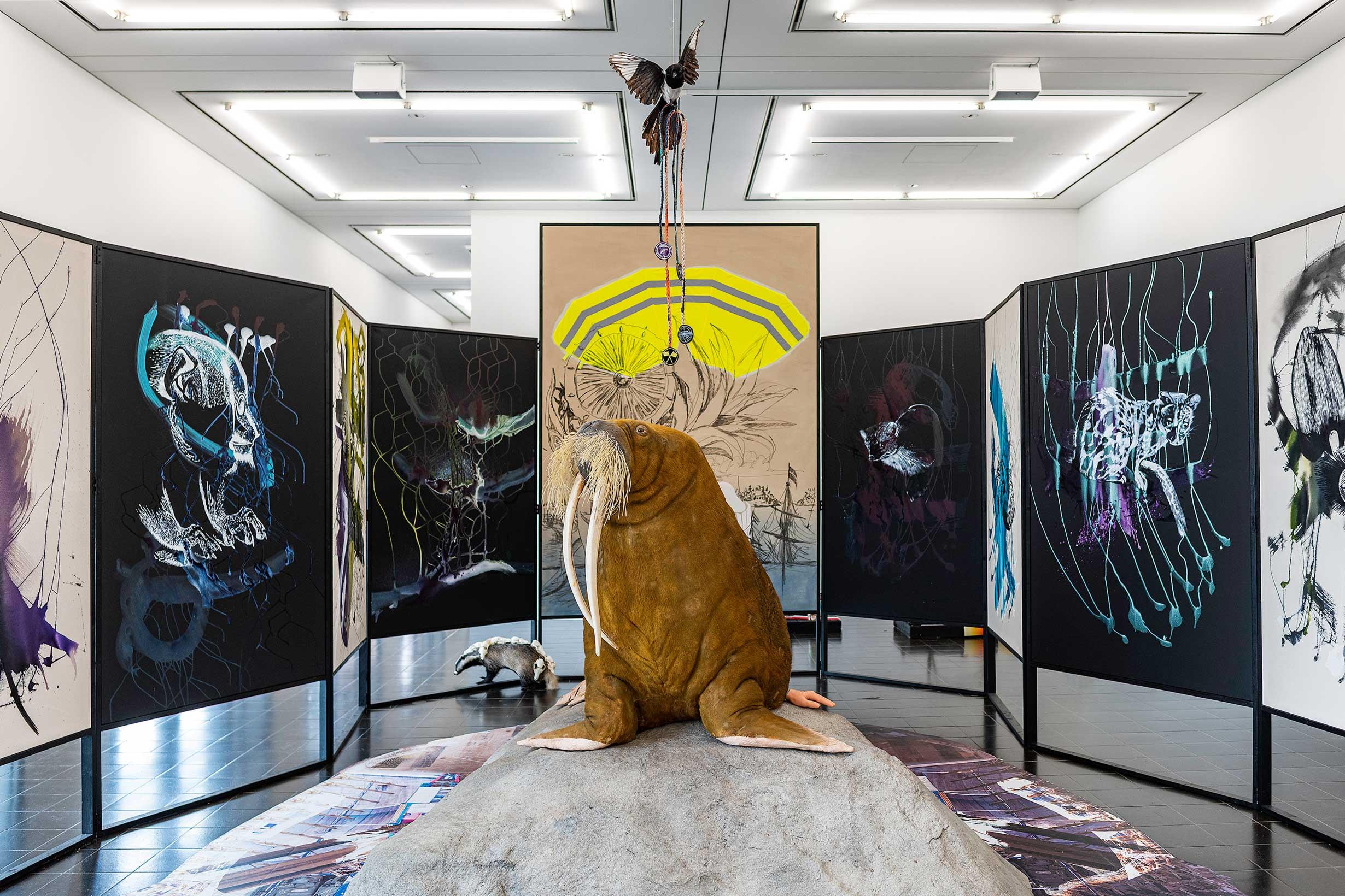 Bild Ausstellung Kunsthalle Hamburg 2020
